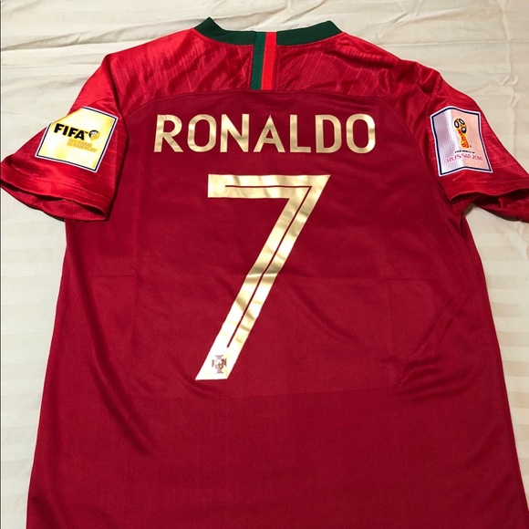 finest selection aefeb 7953a 🇵🇹Ronaldo Soccer Jersey-Portugal 2018/19 season NWT
